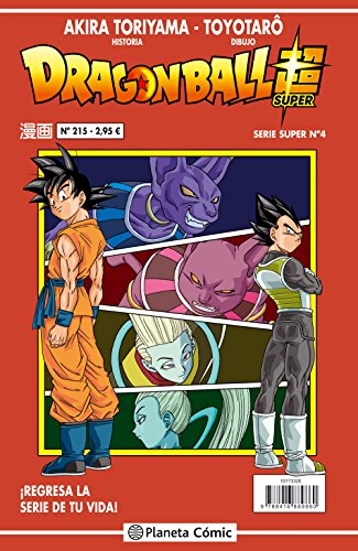 Descargar Libro Dragon Ball Serie roja nº 215 (DRAGON BALL SUPER) de Akira Toriyama