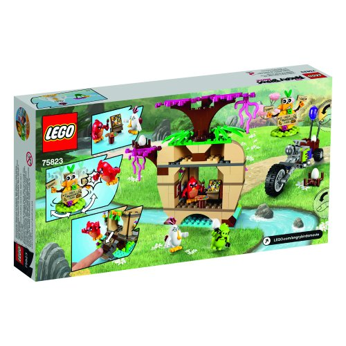 Image of LEGO 75823 Angry Birds Bird Island Egg Heist Building Set
