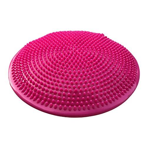 Massage-kissen-pad (Lopbinte Yoga Rot Gleichgewicht Matte Massage Pad Kissen Gleichgewicht Disc Gleichgewicht Ball Riot Yoga Kissen Ankle Rehabilitation Kissen Pad)