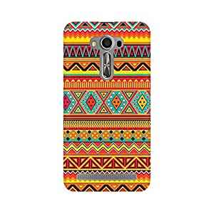 RAYITE Embroidery Print Premium Printed Mobile Back Case Cover For Asus Zenfone Selfie