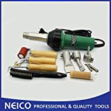 110V / 1600W PVC / TPO Roofing Membrane Hot Air Welder Heat Gun Kit Similar Triac S/ ST Roof Weld Kits