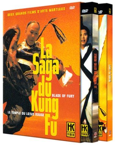 Bild von Coffret la saga du kung-fu, vol. 1 : le temple du lotus rouge ; blade of fury [FR Import]