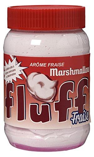 Fluff Marshmallow Strawberry - 213 gr, [pack de 3, 639 gr]
