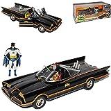 Batmobile und Batman Classic TV Serie mit Figur 1/24 Jada Modell Auto mit oder ohne individiuellem Wunschkennzeichen