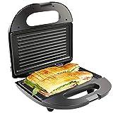 éLectrique Barbecue Gril Mini 2 Portions Plat Chaud AntiadhéSif pour PréParation du Petit DéJeuner Steak Panini Sandwich Stockage Vertical 750w