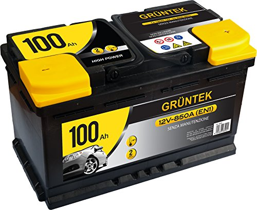 Gruntek L5 Batteria Auto 100AH 850A 12V