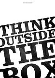 "Startup Poster ""Think outside the box"" Motivation Spruch Office 59,5cm x 42cm DIN A2 Plakat Coworking space Poster Büro Wandbild Wanddekoration Business Bild Motivating Start up Poster Zitate Sprüche"