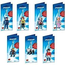 Coleccion 7 llaveros Playmobil. 6611-6612-6613-6615-6616-6617-6618