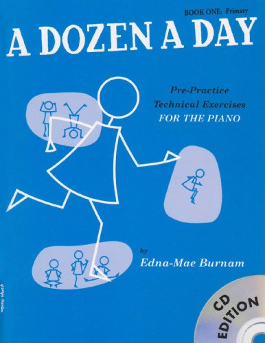 A Dozen A Day: Book One - Primary Edition (Book And CD) (Book & CD)