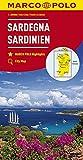 MARCO POLO Karte Italien Blatt 15 Sardinien 1:200 000: Wegenkaart 1:200 000 (MARCO POLO Karten 1:200.000)