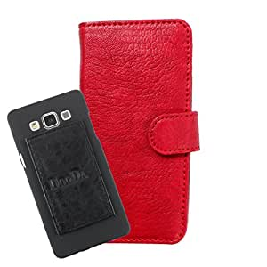 DooDa PU Leather Wallet Flip Case Cover With Card & ID Slots For Meizu MX4 Pro - Back Cover Not Included Peel And Paste
