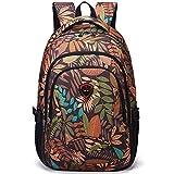 Bolsa de viaje plegable ultraligera para hombres y mujeres, mochila para deportes al aire libre, bolsa de senderismo impermeable y portátil Brownflower talla