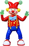 #7: ATTRACTIVE 3D LIGHT & SOUND DANCING ROLY POLY CLOWN JOKER TOY FOR KIDS  (Multicolor)