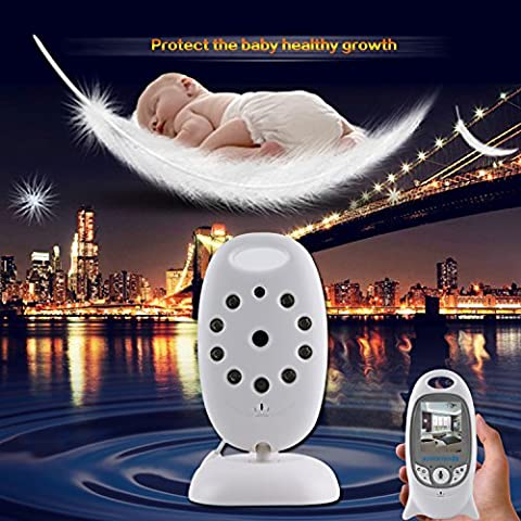 UmiTrend Baby Wireless Video Baby Monitor mit Digitalkamera, Nachtsicht Temperaturüberwachung & 2 Way Talkback System