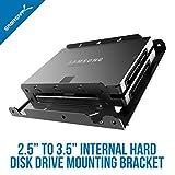 Sabrent 6,3cm to 8,9cm interne Festplatte Drive Mounting Kit (bk-hddh)