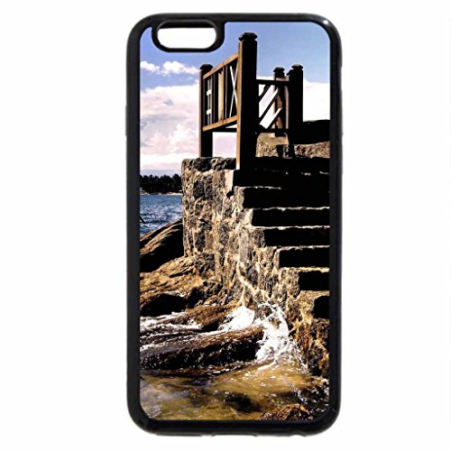 iPhone 6S / iPhone 6 Case (Black) Stairs to the sea