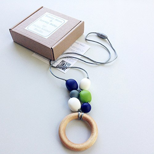 teething-ring-designer-necklace-gift-box-genuine-oak-ring-silicone-beads-jewellery-for-mom