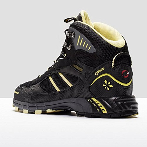 MAMMUT TCirrusMidGTX Chaussures de randonnée Femme Noir/Jaune