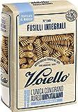 Voiello Pasta Fusilli Integrale N.141, Pasta Corta di Semola Grano Aureo 100% - 500 gr