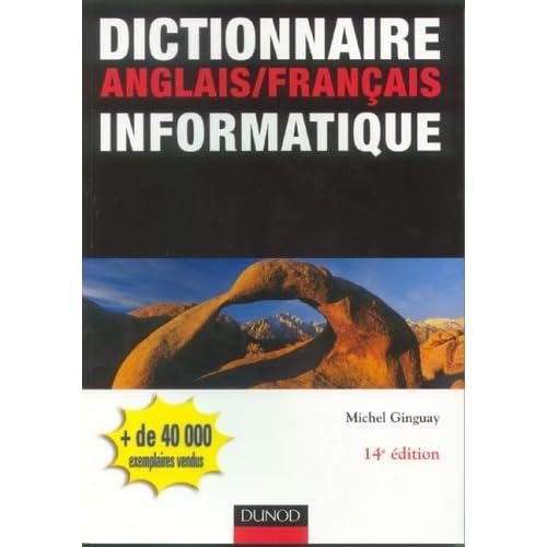 Dictionnaire anglais/français informatique