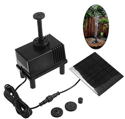 Ounona kit pompa ad acqua solare pannello a fontana solare sommergibile per annaffiatura per piccola piscina e circolazione d'acqua