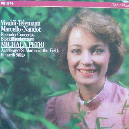 Blockflötenkonzerte von Vivaldi, Telemann, Marcello & Naudot [Vinyl LP] [Schallplatte]