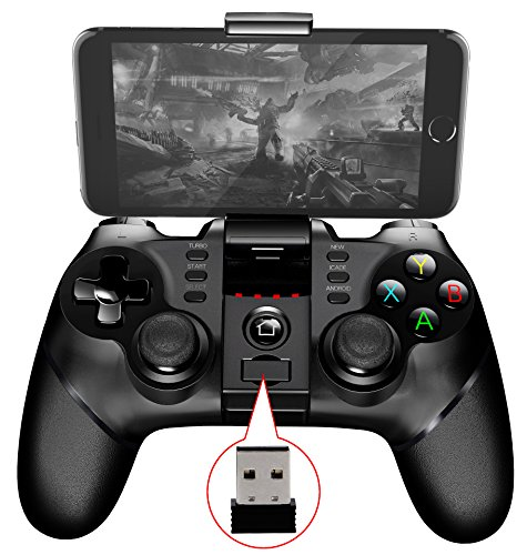 2.4G Bluetooth Kabelloses Gamepad IPEGA PG-9076 Bluetooth Drahtlose Klassische Multimedia Joypad Game Controller für Sony PS3 / Adroid TV Box /Tablet PC (Ipega Controller Bluetooth)