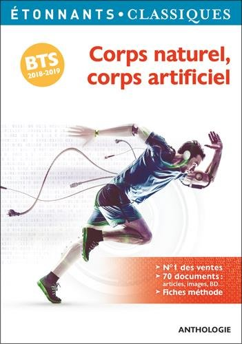 Corps naturel, corps artificiel : Programme BTS 2018-2019 par Collectif