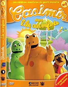CASIMIR/ L'ILE AUX ENFANTS/56 MIN: 3 EPISODES/ ED ATLAS NUMERO 1