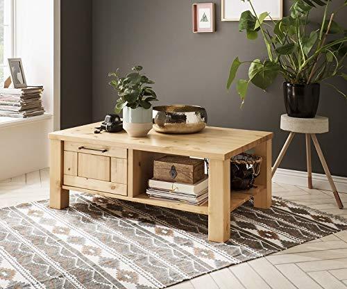 Main Möbel Couchtisch 110x70cm 'Kalmar' Kiefer massiv