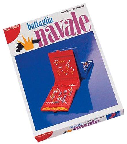 Dal Negro-DAL Battaglia Navale 56401 Gioco da Viaggio Tavolo Giocattolo 198, Multicolore, 8001097564019