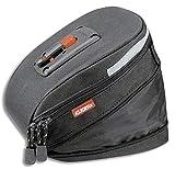 KLICKfix Farradtasche Micro 200 Expandable Schwarz