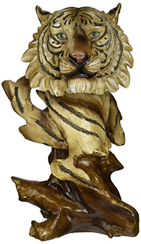 StealStreet ss-ug-py-4798 synthetic Wood Tiger White Collectable decoration Animal Decorative Figure
