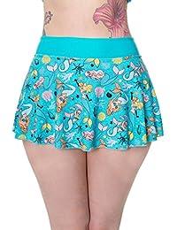 Banned Unforgettable Mermaid Aqua Bikini Bottoms
