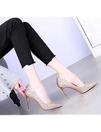 Para es Tacón Mujer Zapatos De Con Amazon Todo xOYqaAwPP