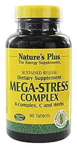 Natures Plus MEGA-STRESS complexe S/R comprimés 90