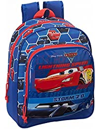 Cars 3 - Mochila infantil 33 cm adaptable a carro (Safta 611809524)