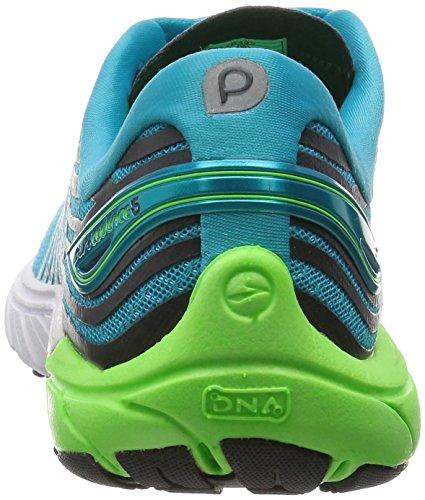 Brooks - Purecadence 5, Scarpe sportive Donna Blu Chiaro/Verde/Bianco