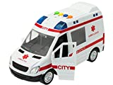 Ambulanza Pronto Soccorso con Luci e Suoni in Scala 1:16
