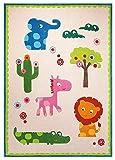 ESPRIT Zoo beige Kinderteppich ESP- 3634-01, Größe:170 * 240cm