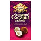 Patak's Creamed Coconut (4x50g) – Pack of 6