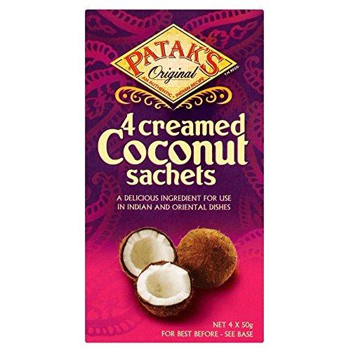 La Noix De Coco À La Crème De Patak (De 4X50G)
