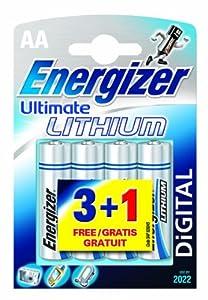 Energizer Ultimate Lithium Mignon 4er Pack von Energizer Batteries