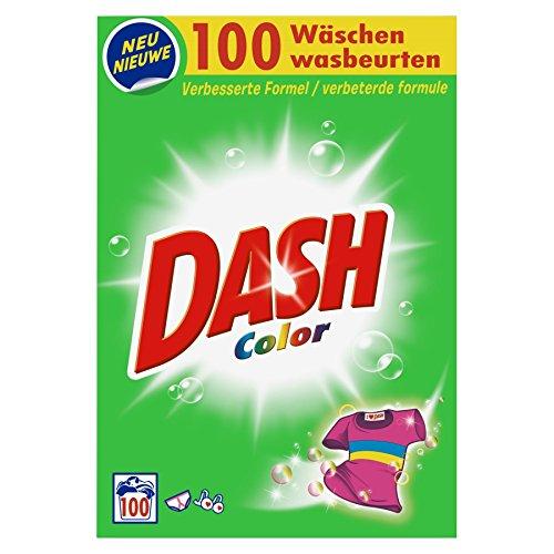 Dash Color Waschpulver 6.5 kg, 2er Pack (2 x 100 Waschladungen) -