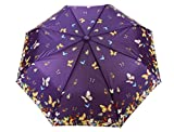 Sun Brand Butterfly Series 5- Automatic Open 3 Fold Umbrella