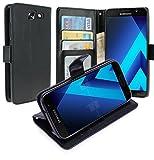 Housse Samsung Galaxy A7 2017, Housse Coque Etui de luxe Portefeuille Porte...