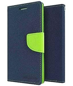 Rapid Zone Dairy Mercury Flip Cover For Samsung Galaxy On Nxt - Blue