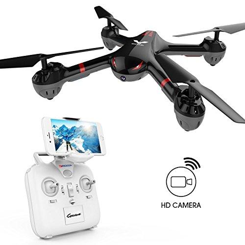 DROCON Drone für Anfänger X708W Wi-Fi Fpv Training Quadcopter mit HD-Kamera mit Headless-Modus One Key Return Einfache Bedienung ausgestattet