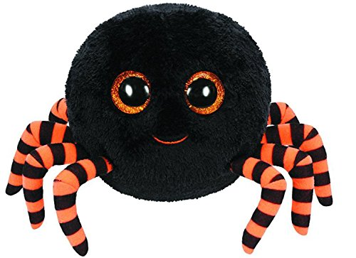 TY Crawly - Halloween Spinne schwarz-orange