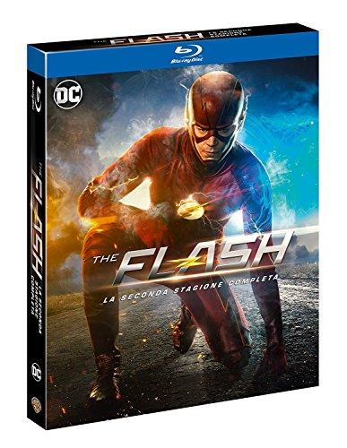 Preisvergleich Produktbild The Flash Staffel 2 DC Comics Blu-ray Import mit Deutschem Ton